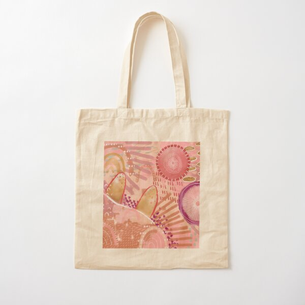 Sunset Cotton Tote Bag
