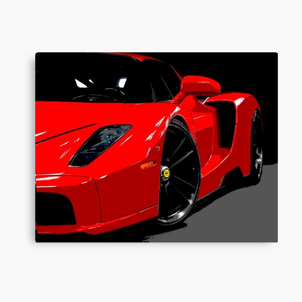 Ultimate Tribute - Enzo Inspired Merchandise Canvas Print