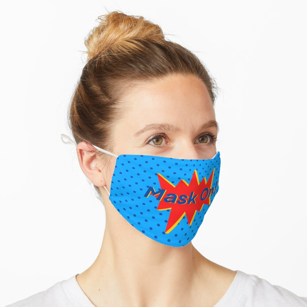 SUPERHERO Design (1/4) Mask