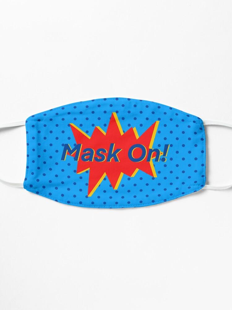 Alternate view of SUPERHERO Design (1/4) Mask