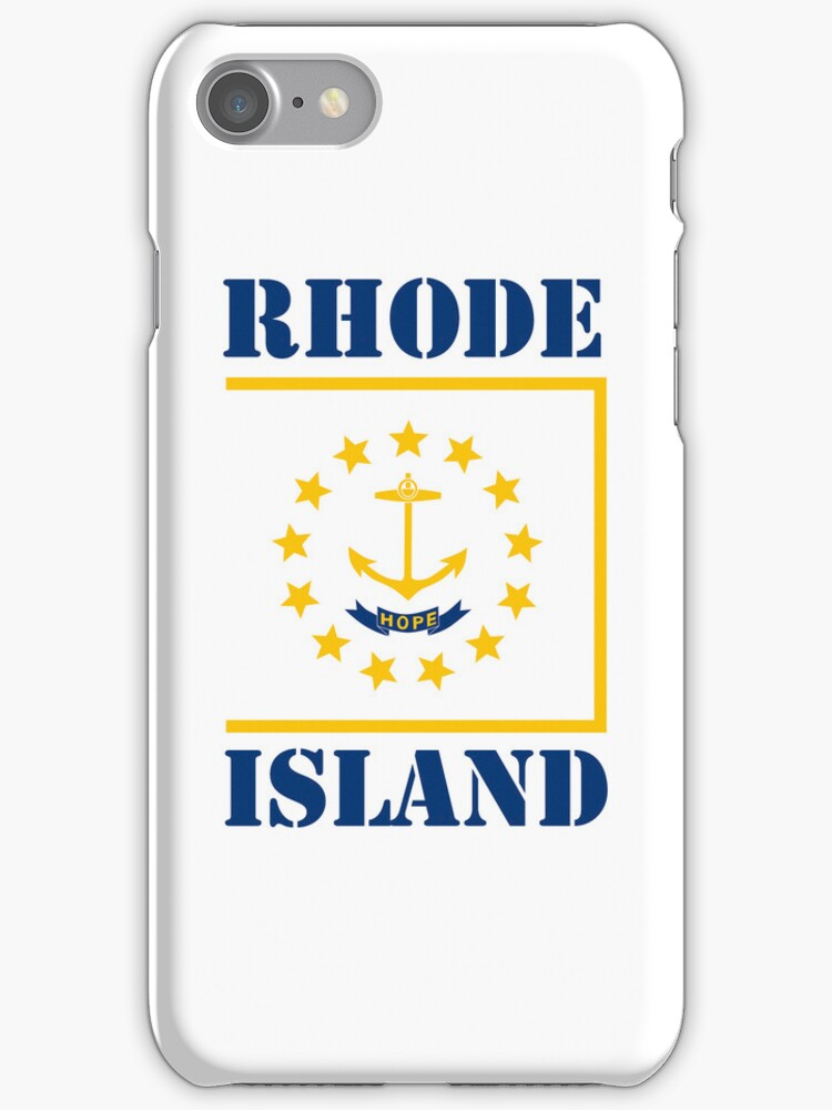 Smartphone Case - State Flag of Rhode Island III by Mark Podger