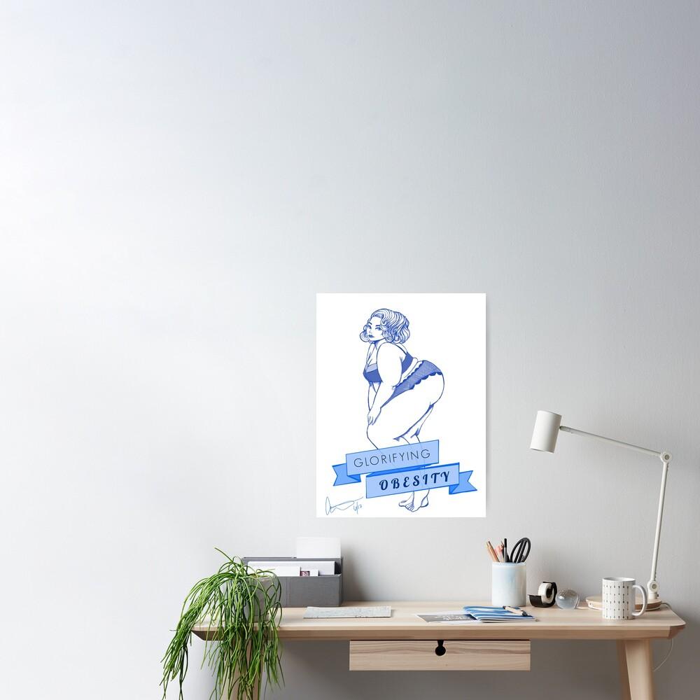 Glorifying Obesity Poster