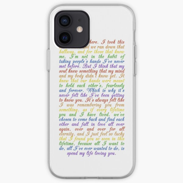 The Speech (iPhone 5/s) iPhone Soft Case