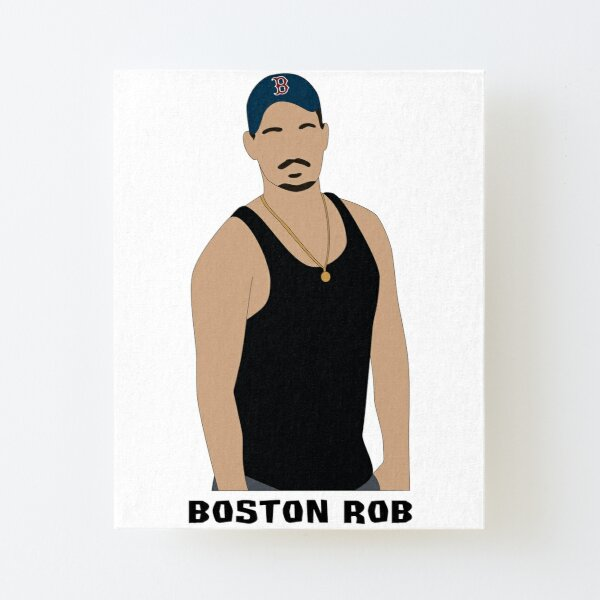 Boston Rob Canvas Mounted Print