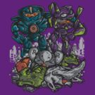 Buddies Vs Apocalypse by jmlfreeman