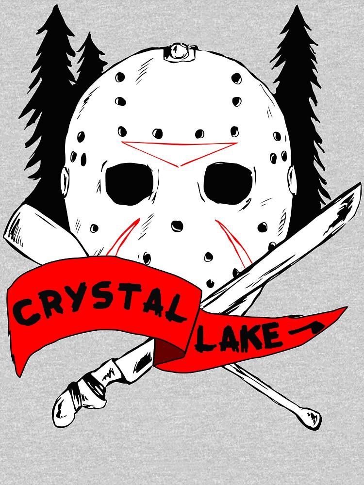 Crystal Lake Cross by CorianderDez