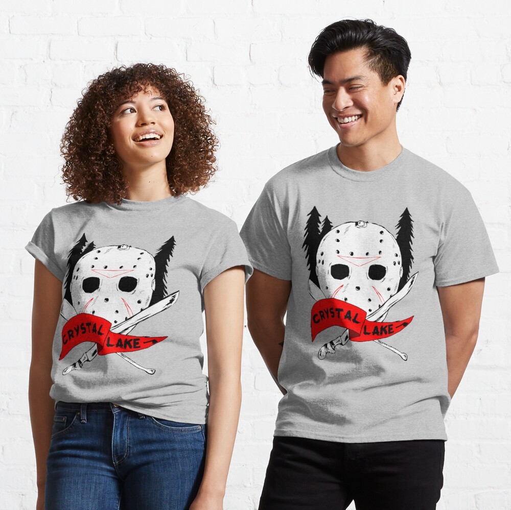 Crystal Lake Cross Classic T-Shirt