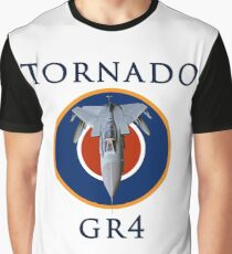 Tornado GR4 illustrated with text Graphic T-Shirt