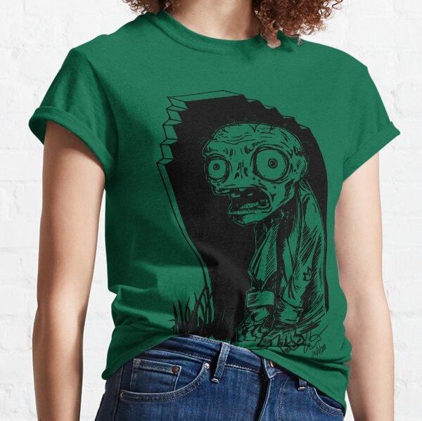8-Bit Zombie Classic T-Shirt