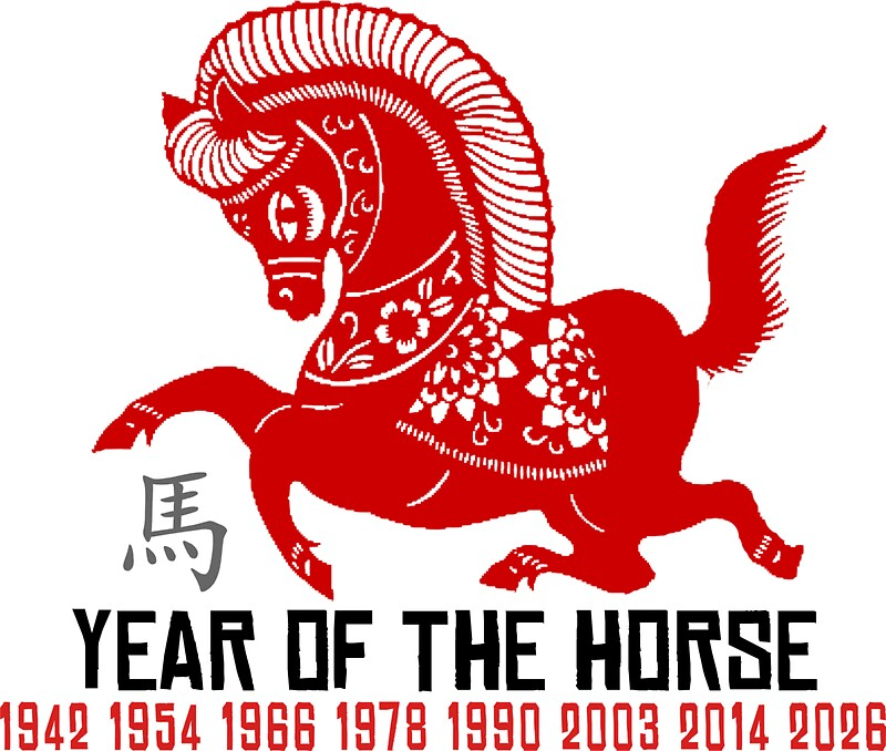 Year Of The Horse Paper Cut Chinese Zodiac Horse Photographic