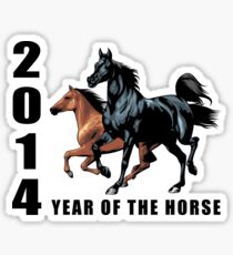 2014 Year of The Horse T-Shirts Gifts Prints Sticker