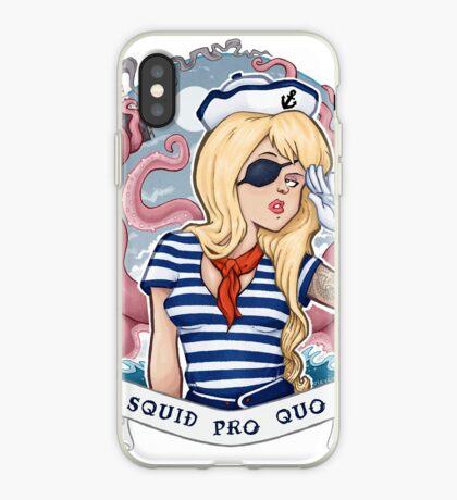 Squid Pro Quo iPhone Case