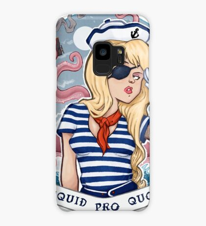 Squid Pro Quo Case/Skin for Samsung Galaxy