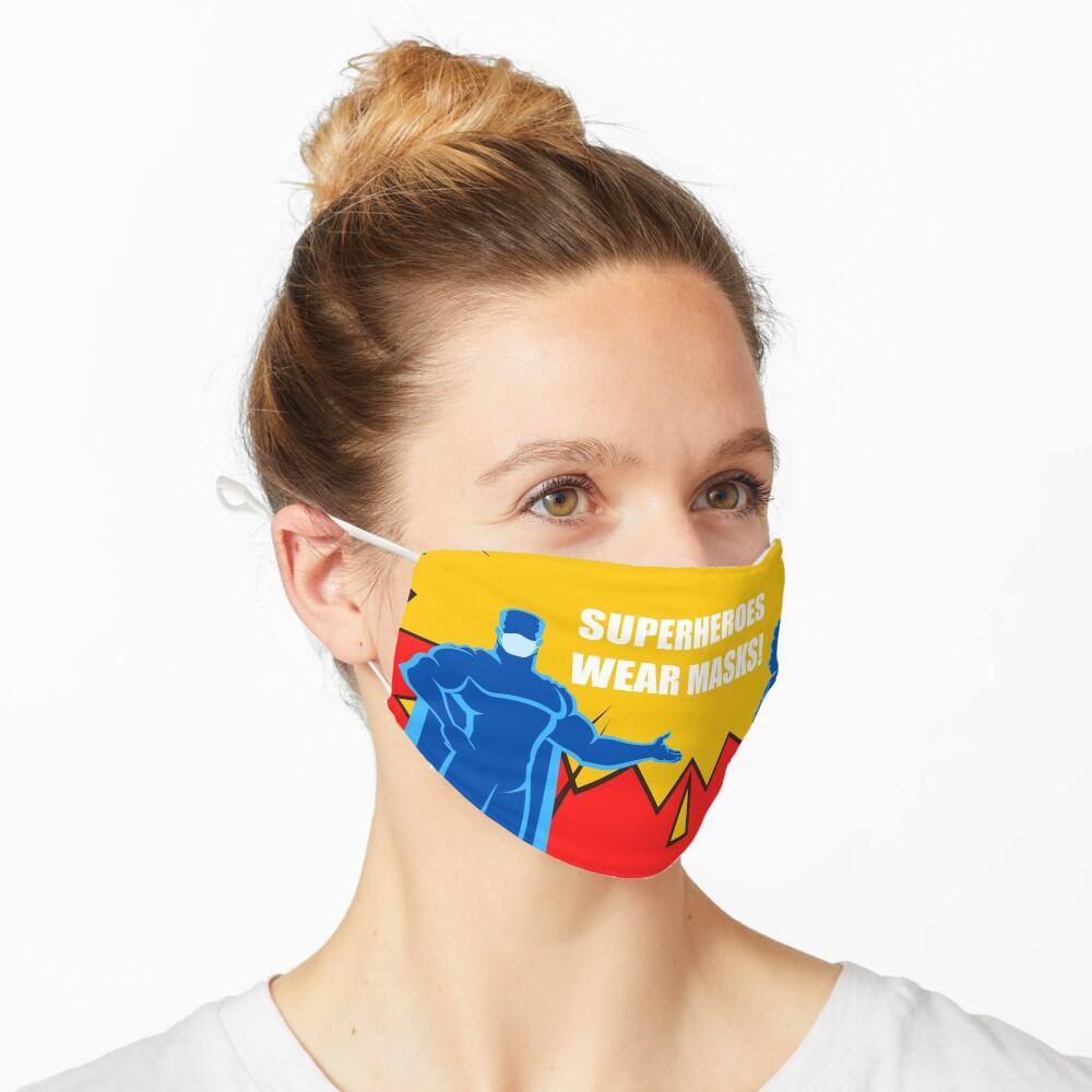 SUPERHERO Design (3/4) Mask