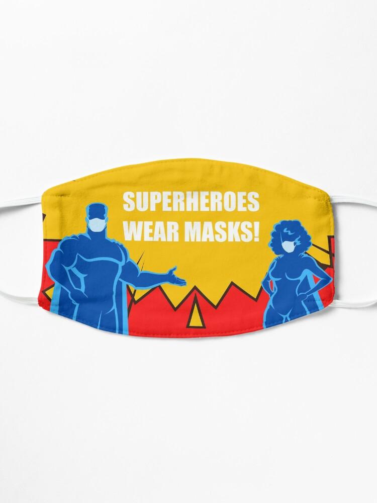 Alternate view of SUPERHERO Design (3/4) Mask