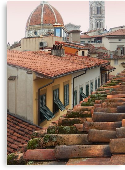 From my Window, Florence by Roz McQuillan