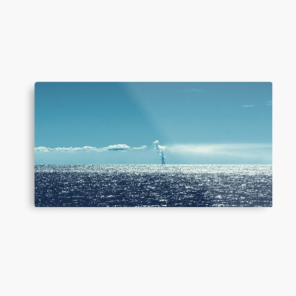 Have You Ever Seen A Cloud Formation Like This? by Elisabeth and Barry King™ Metal Print