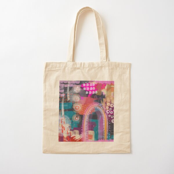 Just Breathe Cotton Tote Bag