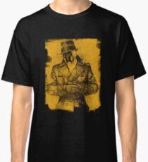 Camiseta clásica ¿Quién mira?