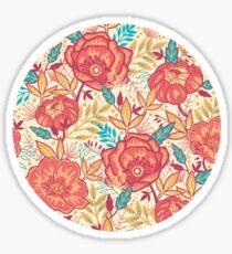 Bright garden pattern Sticker