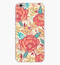Bright garden pattern iPhone Case