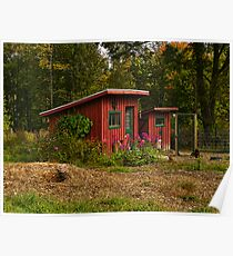 Lil Red Barns Poster