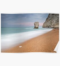 The Stack at Bat's Head, Durdle Door Poster