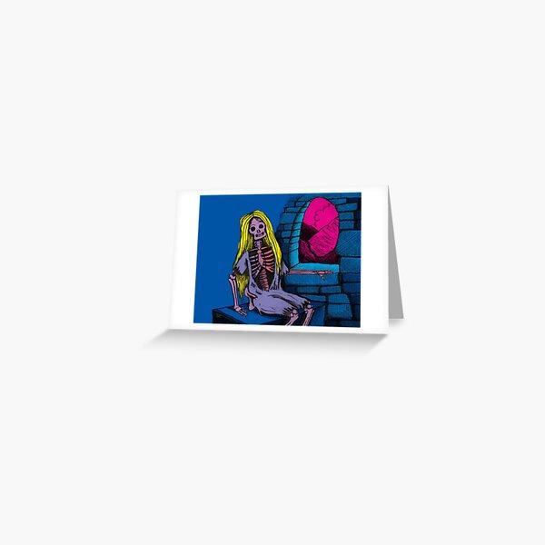 Zombie Rapunzel Greeting Card