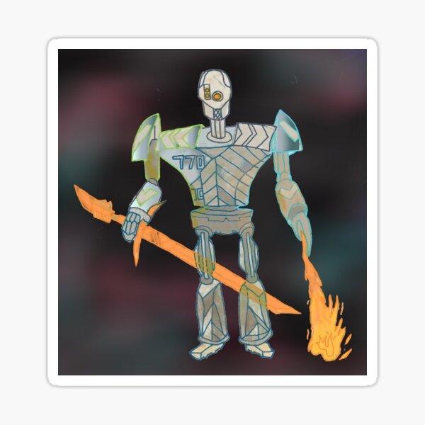 Death Robot Sticker