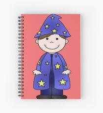 Charlie Wizard Spiral Notebook