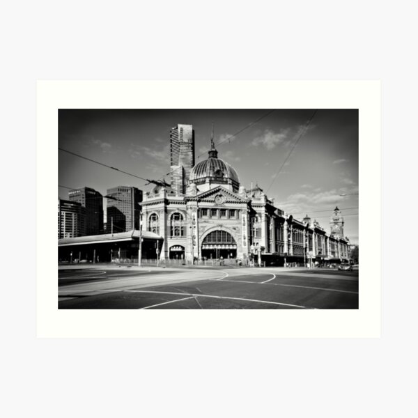 Flinders Street Station 2013 Art Print
