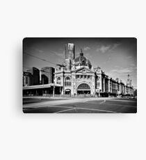 Flinders Street Station 2013 Canvas Print
