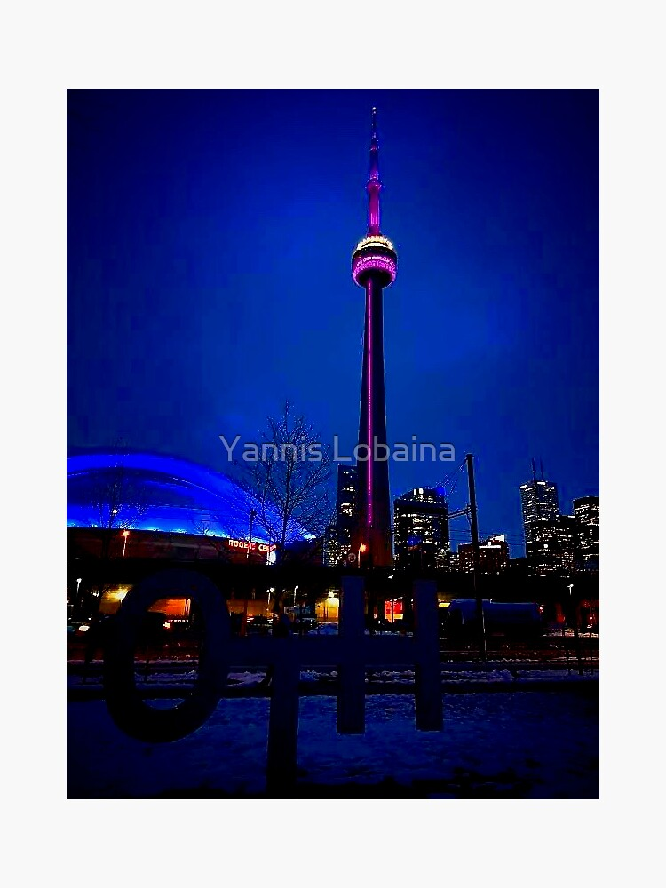 Blue song for Toronto by Yannis Lobaina by lobaina1979