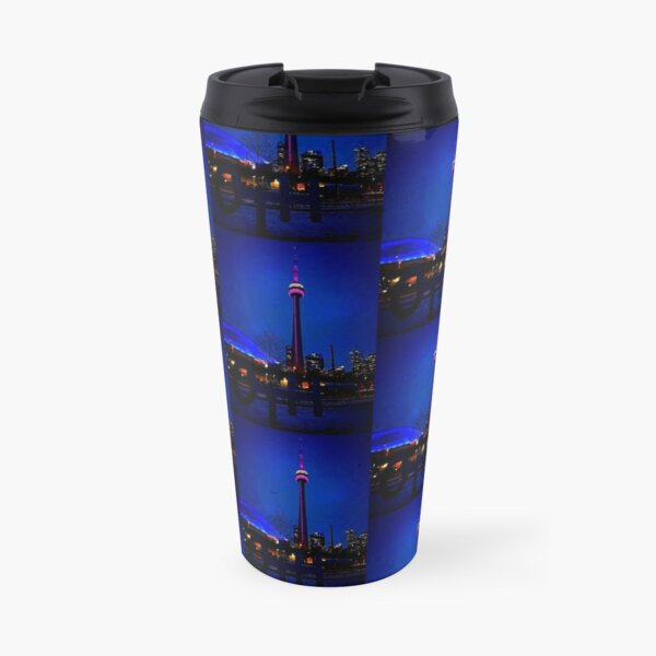 Blue song for Toronto by Yannis Lobaina Travel Mug