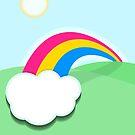 Pansexual Rainbow by Cassie Peele
