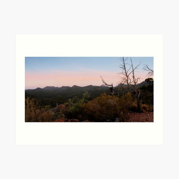 Warrumbungle National Park, NSW, Australia. Art Print
