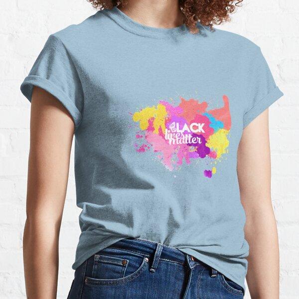 Black Lives Matter Multicolor Logo Classic T-Shirt