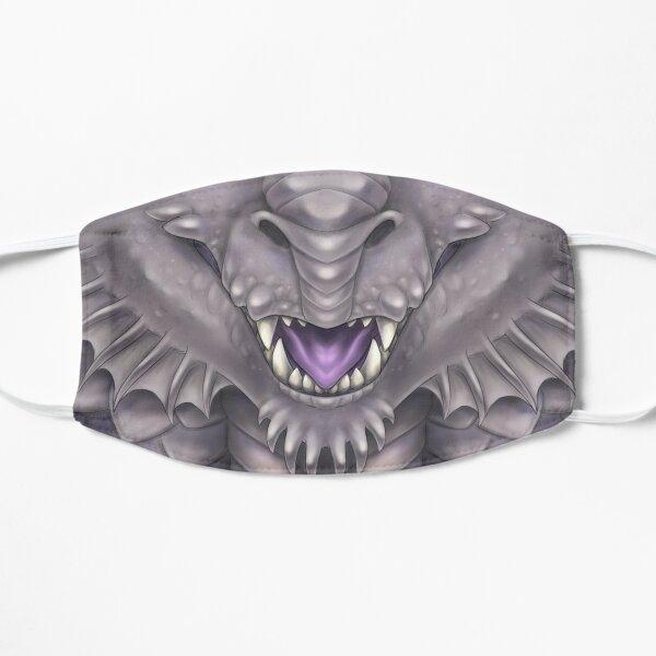 Silver Dragon Face Flat Mask