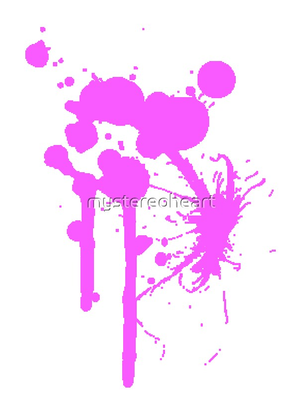 Quot Blood Splatter Quot Canvas Prints By Mystereoheart Redbubble