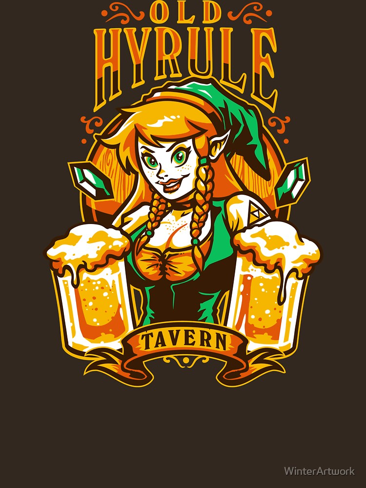 Old Hyrule Tavern | Unisex T-Shirt