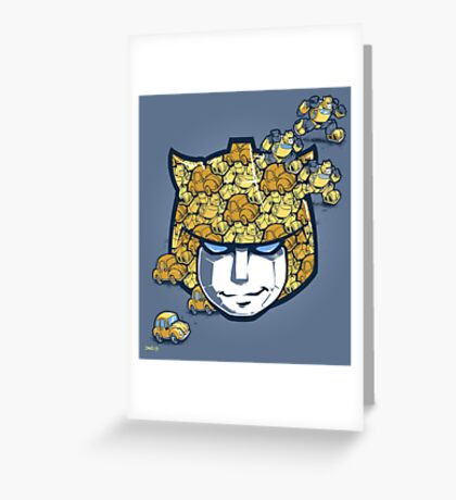 Bumble Tessellation Greeting Card