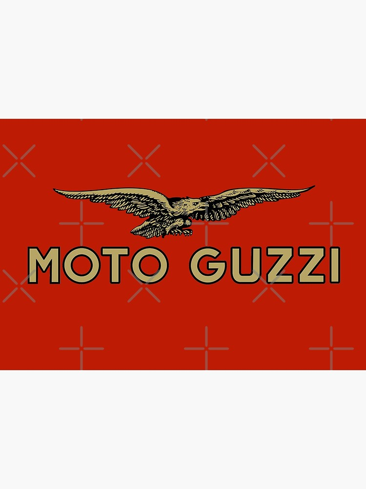 «Moto Guzzi Logo Shirt, autocollant, sweat à capuche, masque» par TheScrambler
