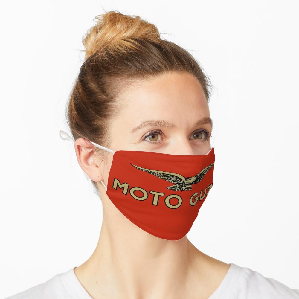 Masque «Moto Guzzi Logo Shirt, autocollant, sweat à capuche, masque»
