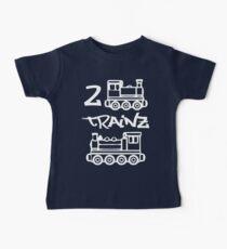 2 Trainz Baby Tee
