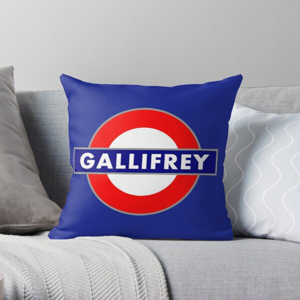 GALLIFREY METRO Throw Pillow