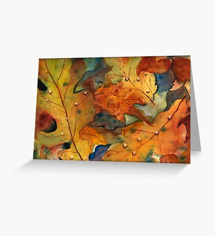 Autumn Embraces You Greeting Card