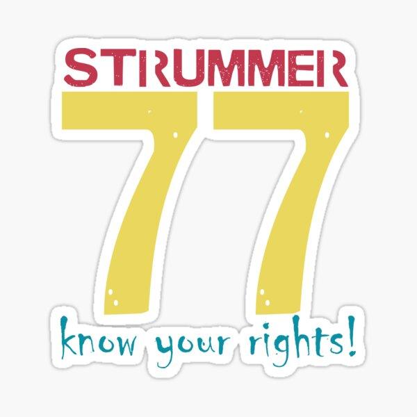 Strummer 77 Sticker