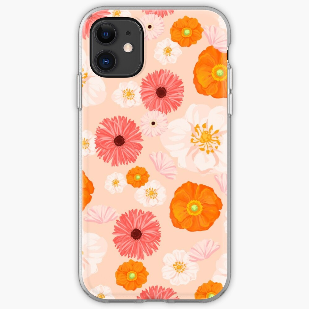 Coral Bloom iPhone Case & Cover