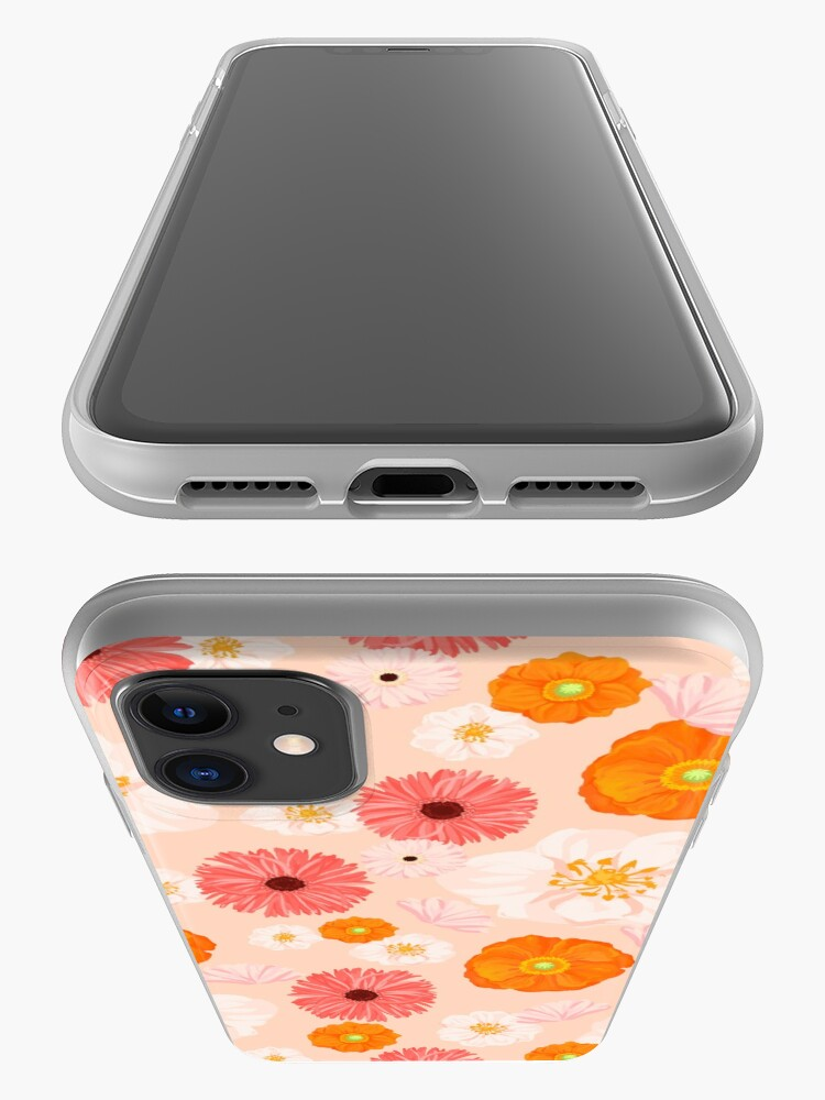 Alternate view of Coral Bloom iPhone Case & Cover