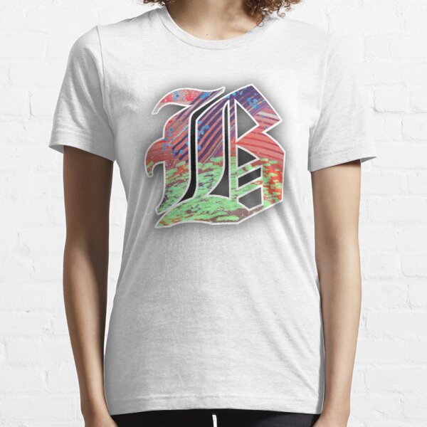 Abstract Olde English Letter B Essential T-Shirt